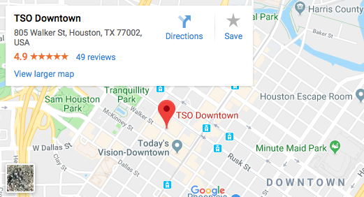 TSO Downtown Map